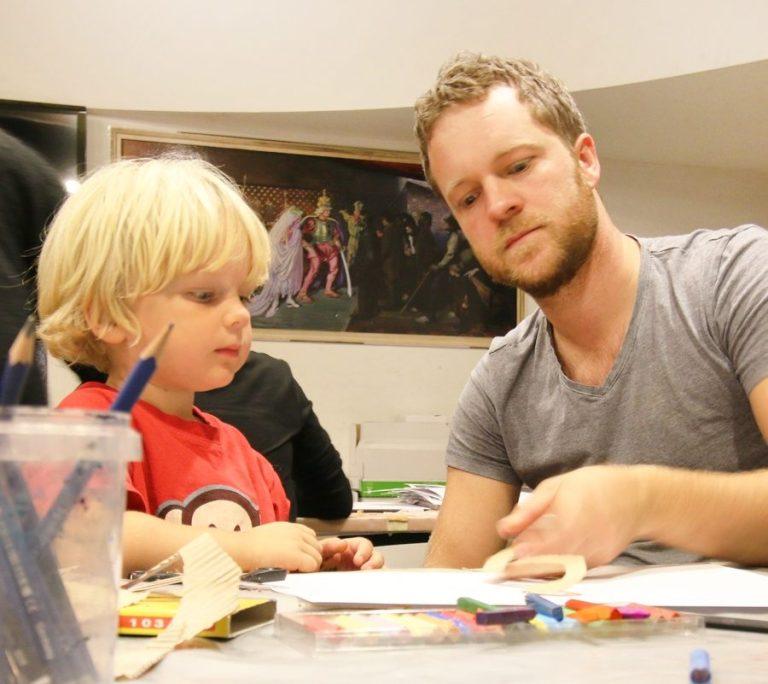 Familiesøndag børn på Willumsens Museum