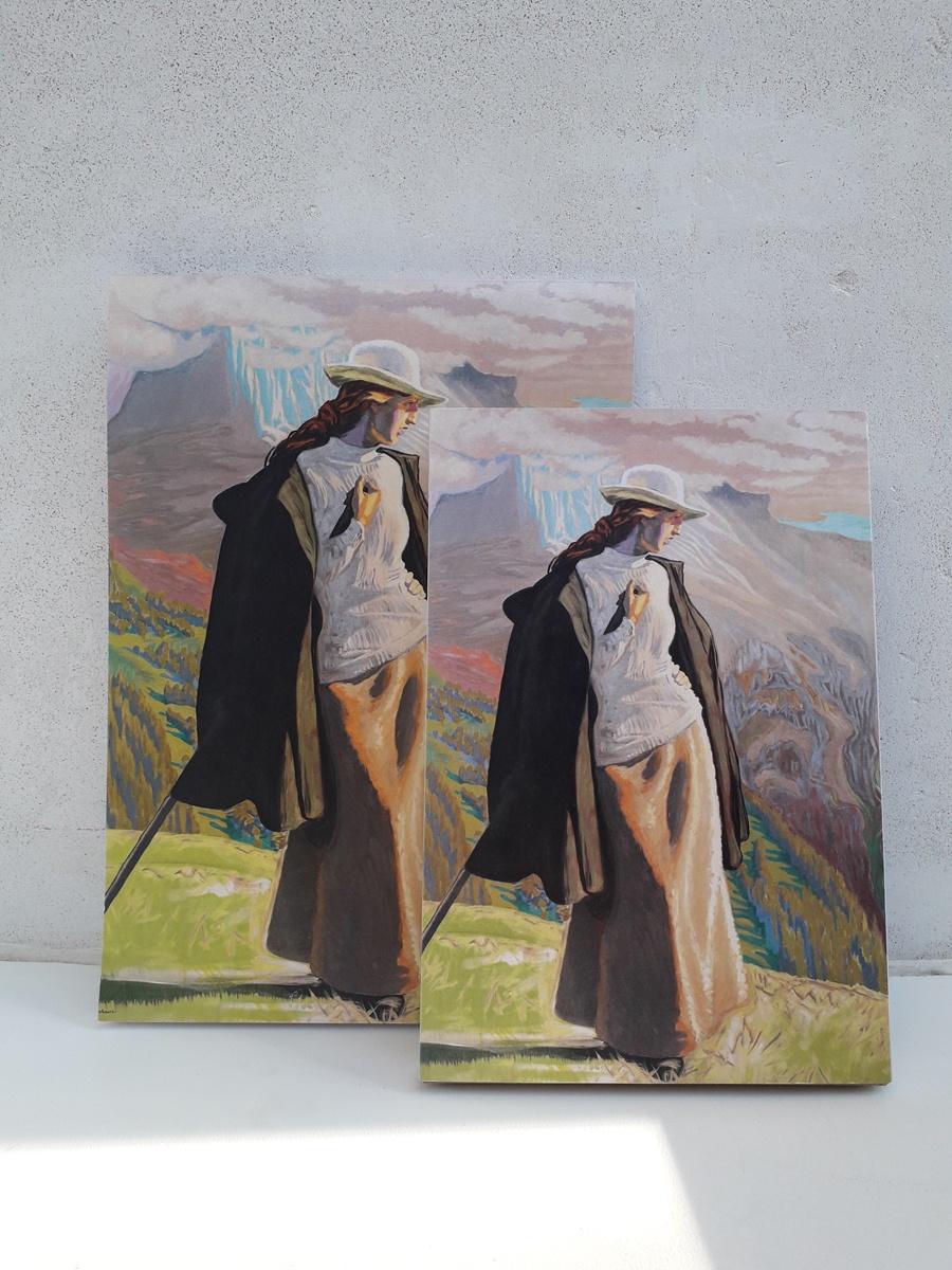 Skitseblok En Bjergbestigerske Willumsens Museum