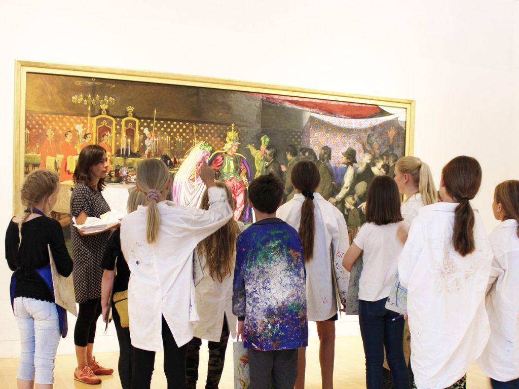 4. -6. klasse Willumsens Museum undervisning