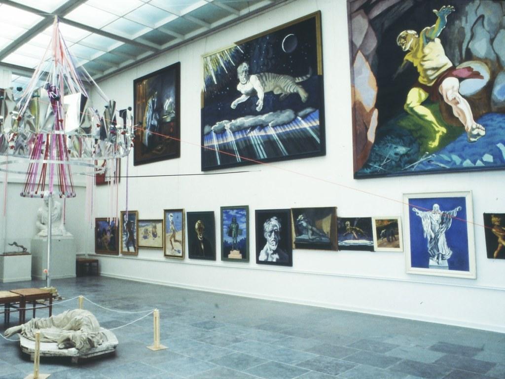 Kunstnerkuraterede udstillinger_Willumsens Museum_reliefsal