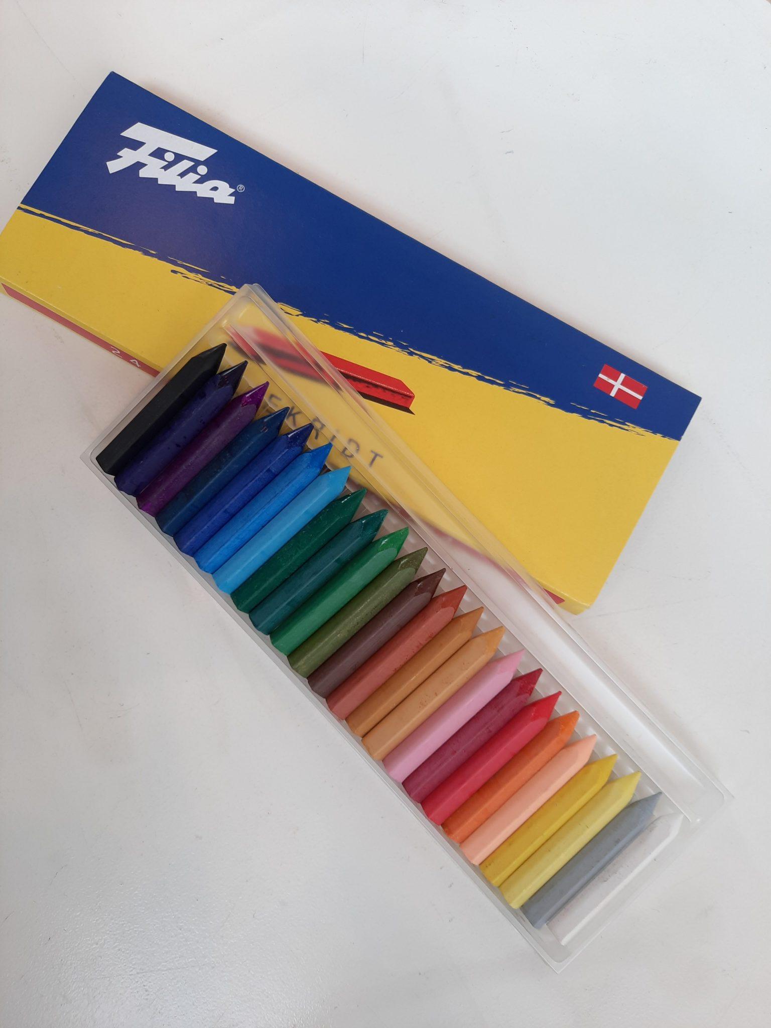 Filia pastelkridt 24 stk.