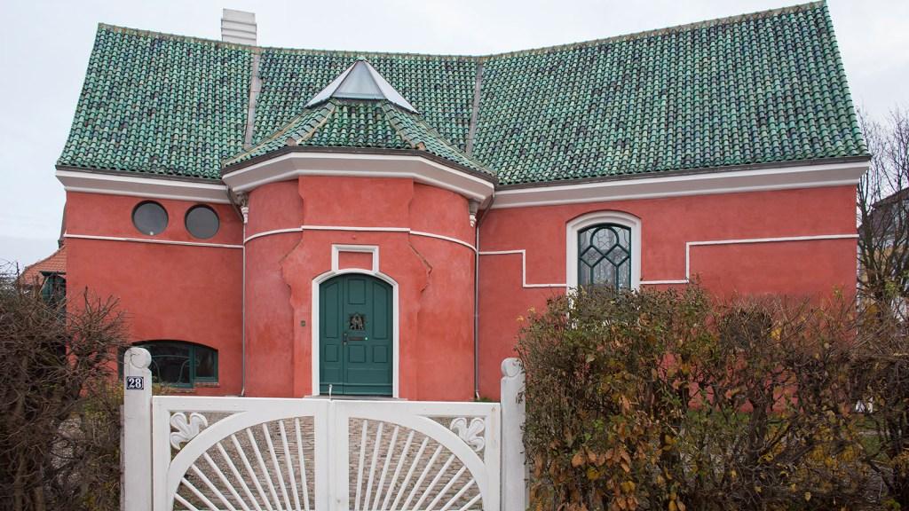 J.F. Willumsens Villa Strandagervej 28 Ateliervilla