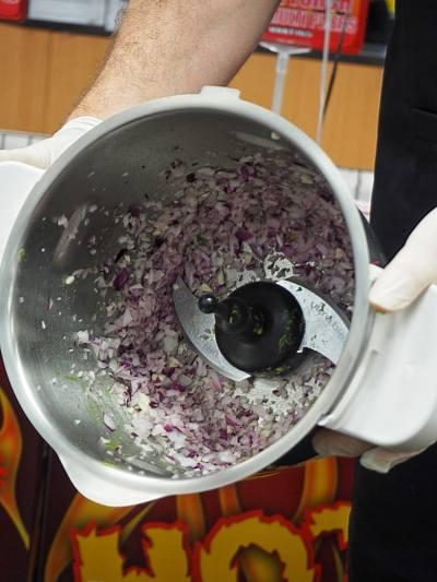 Inside the Tefal bowl. Photo: Willunga Wino