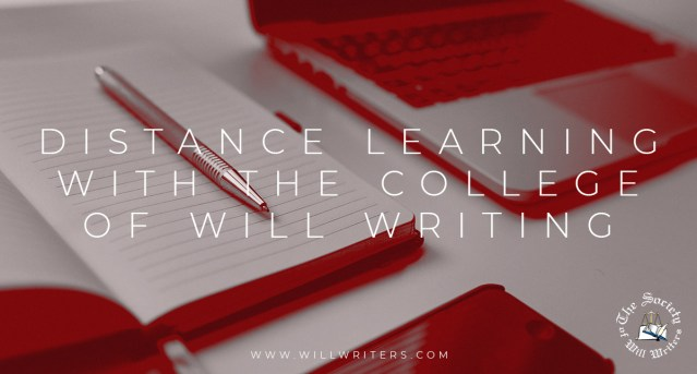 Distance Learning with The College of Will Writing