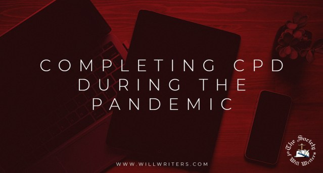 Completing CPD During the Pandemic