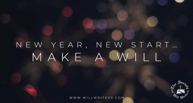 New Year, New Start… Make a Will