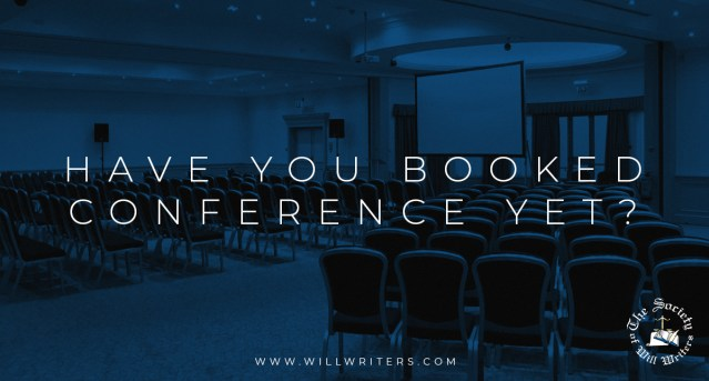 Have you Booked Conference yet?