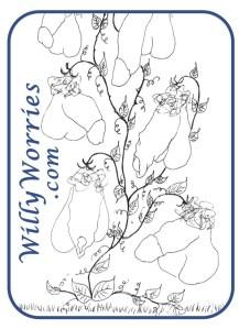 The Sexplained® Willy Tree - Willius Floppius Variagata.