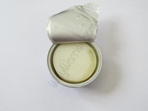 Image of a Protected® F-5 Gel Contraceptive Sponge, used by women to prevent pregnancy - impregnated with spermicide to kill sperm and protect against pregnancy