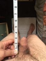 WillyMan 22 - picture of his erect penis - owner's view