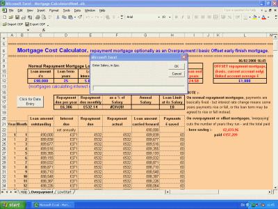 Wilmot's Microsoft Office Excel Mortgage Calculators - low ...