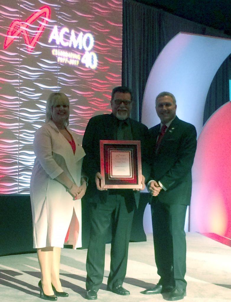 Ray Wilson Receives ACMO Lifetime Award