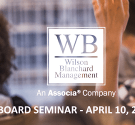 2019 04 10 Board Seminar - SOLD OUT - Board Seminar - April 10, 2019