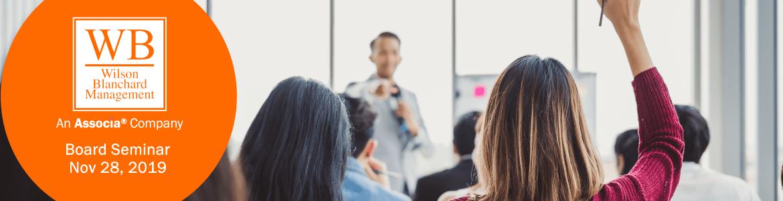 2019-11-28 - Board Seminar