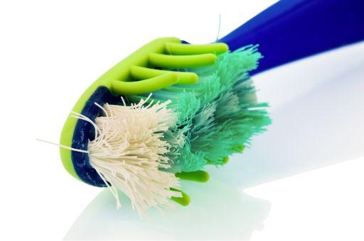 escova de dentes velha