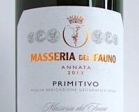 Masseria del Fauno 2013 Primitvo IGT Puglia