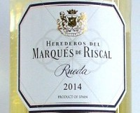 Marques de Riscal 2014, Rueda, Spain