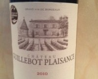<strong>Ch. Guillebot Plaisance 2013, Bordeaux</strong>