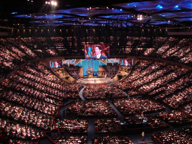 mega church inside