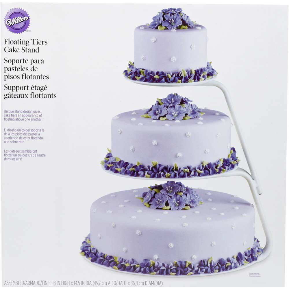 Floating Tiers Cake Stand Wilton
