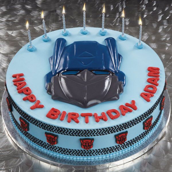 Tracking The Transformers Cake Wilton