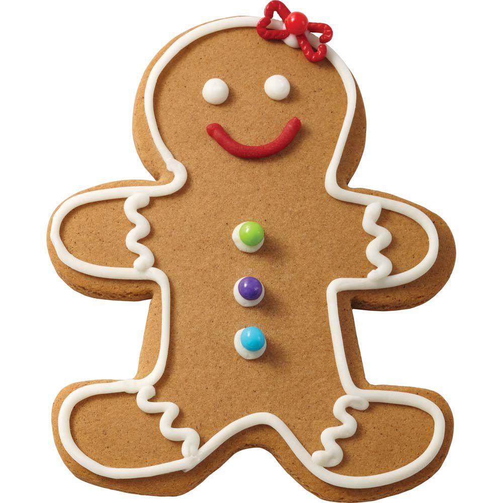 Gingerbread Cookie Decorating Ideas   Wilton Traditional Gingerbread Girl