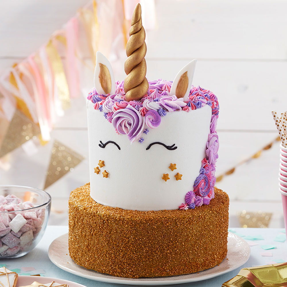 Birthday Cake Ideas   Birthday Cakes   Wilton Unicorn Birthday Cake