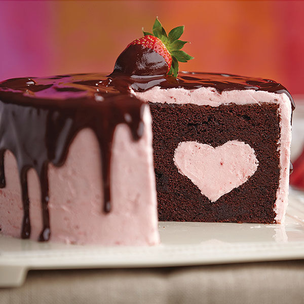Chocolate Dipped Strawberry Cake Recipe Wilton