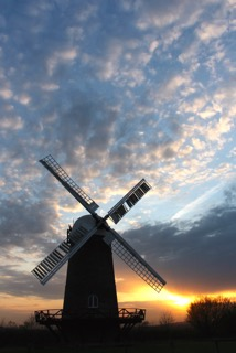 Sunset at Wilton Windmill  Image courtesy of Mandy Humphreys