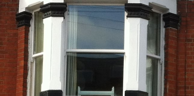 Sash Window Close Up in Clapham, London SW12