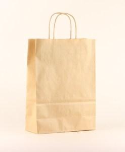 papieren luxe draagtas bruin