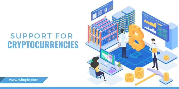 SUPPORT FOR CRYPTOCURRENCIES