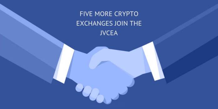 Five More Crypto Exchange Join The JVCEA