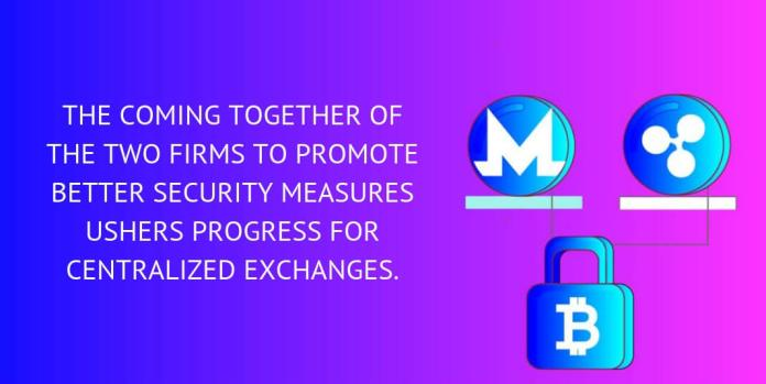 The coming together of the two firms to promote better security measures ushers progress for centralized exchanges.