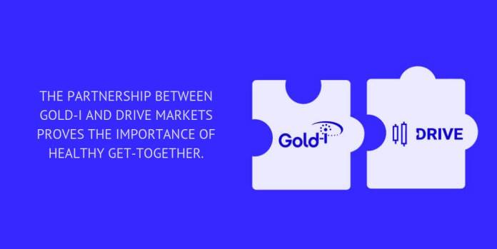 The partnership between Gold-i and DRIVE Markets proves the importance of healthy get-together.