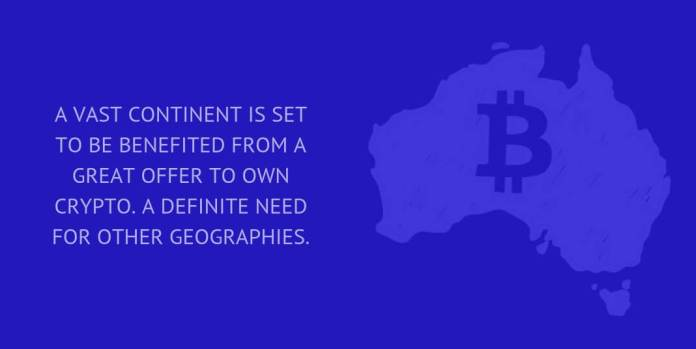 A VAST CONTINENT IS SET TO BE BENEFITED FROM A GREAT OFFER TO OWN CRYPTO. A DEFINITE NEED FOR OTHER GEOGRAPHIES.
