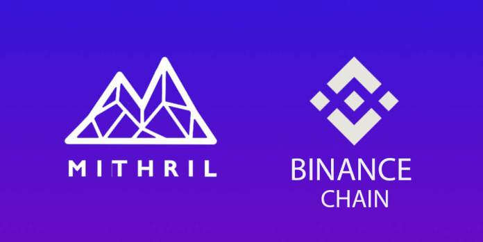 Mithril emerges first to leverage Binance blockchain