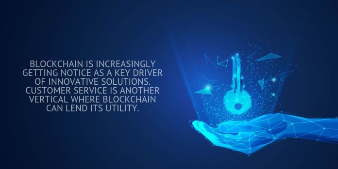 blockchain is increasingly getting notice as a key driver of innovative solutions.