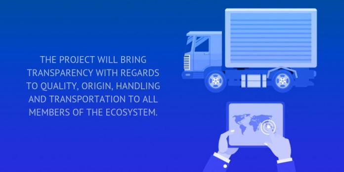 The project will bring transparency with regards to quality, origin, handling and transportation to all members of the ecosystem.