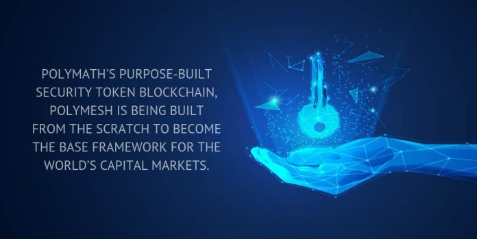 polymath's purpose-built security token blockchain, polymesh is being built from the scratch to become the base framework for the world's capital markets.