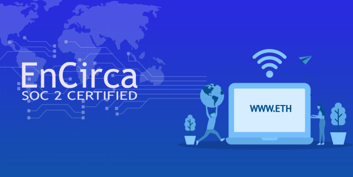 Blockchain domain name choice ongoing with EnCirca