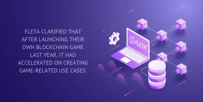 FLETA clarified that after launching their own blockchain game last year, it had accelerated on creating game-related use cases.