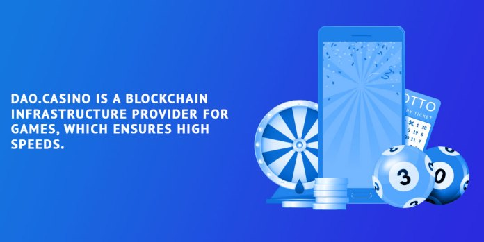 DAO.Casino-is-a-blockchain-infrastructure-provider-for-games,-which-ensures-high-speeds