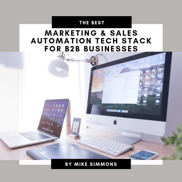 Marketing Sales Automation Tech Stack
