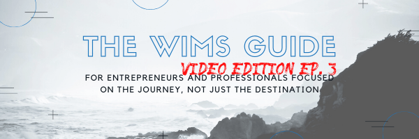 The WIMS Guide Video Ep. 3