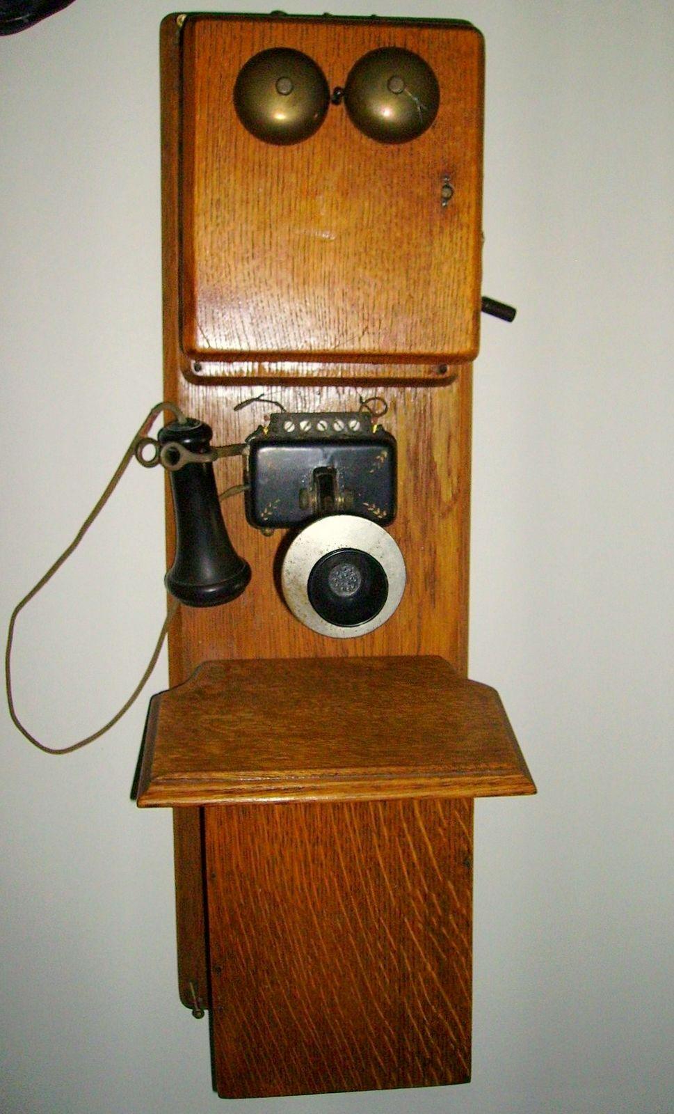 Stromberg Carlson Telephone Wiring Diagram Explained Diagrams Crank Western Illinois Museum Phone