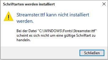 Installieren Von Schriftarten Windows 10 Pro 64bit