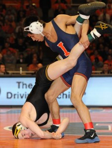 Three of two-time champion Matt's McDonough's seven career losses have been to Illinois' Jesse Delgado, the last coming in the 2013 Big Ten finals.