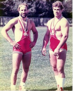 Dave (left) and Mark Schultz