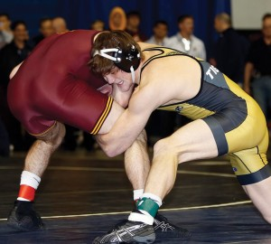 Missouri's Drake Houdashelt earned a No. 1 ranking after winning the Southern Scuffle, Jan. 2, in Chattanooga.